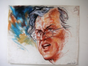 Senator Ted Kennedy by Betty Wells