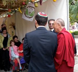 Dalai Lama at Adas Israel by Keri Douglas