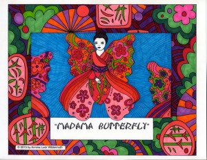 Madame Butterfly by Annina Luck Wildermuth