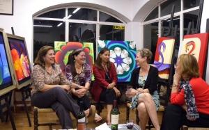 The Ladies Who Do Art, ParaguayPhoto by Keri Douglas