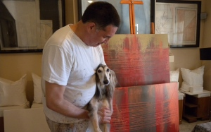 Toranzos at home in his gallery. Photo by Keri Douglas
