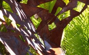 Garden Sculpture by Aldo Fabrizio Photo by Keri Douglas (copyright protected)