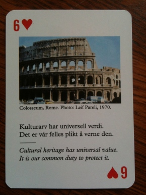 Ingenuity: Cards to Protect Cultural Heritage in War, Conflict &Galleries