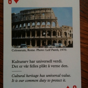 Ingenuity: Cards to Protect Cultural Heritage in War, Conflict & Galleries