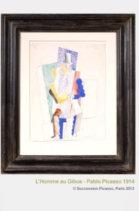 """Homme au Gibus"" by Picasso"