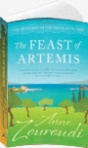 The Feast of Artemis by Anne Zouroudi  In this seventh gripping, instalment of The Mysteries of the Greek Detective, the olive harvest is drawing to a close in the town of Dendra, and when Hermes Diaktoros arrives for the celebratory festival he expects an indulgent day of food and wine…but …  Hermes follows a bitter trail through the olive groves to reveal a motive for murder, and uncovers a dark deed brought to light by the sin of gluttony.  http://amzn.to/1eT4PWd