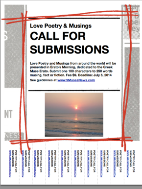 Erato's Morning: Poetry & Musings Call for Submissions