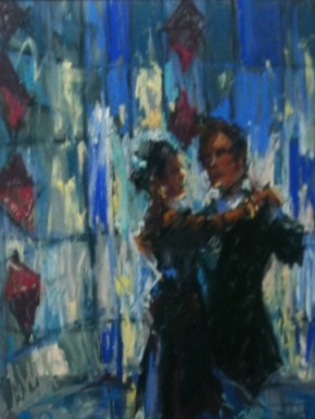 Creativity: Swiss Artist Anita Peghini-Raber Talks Art &Tango