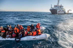 MOAS Saves Lives at World's Most Dangerous Border Crossing – the Sea