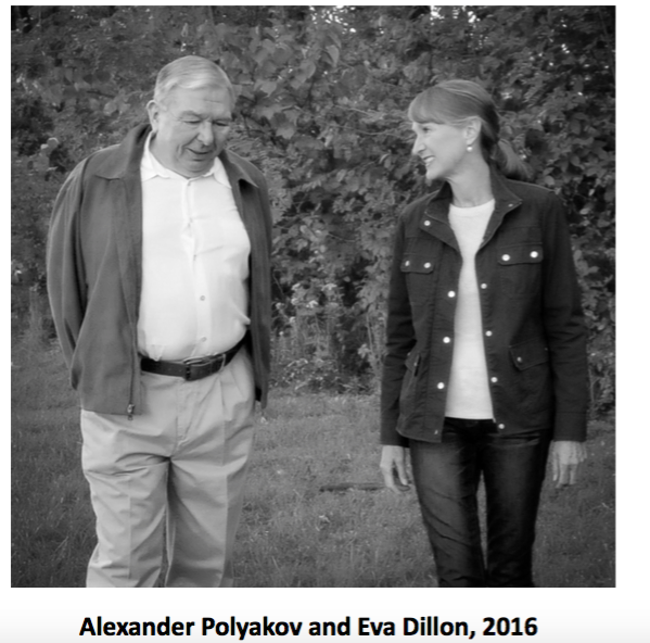 Alexander Polyakov and Eva Dillon, 2016