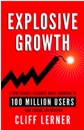 Explosive Growth 10x by Cliff Lerner
